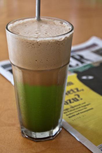 Bild: Matcha-Tee Kaffee Koffein Wirkung