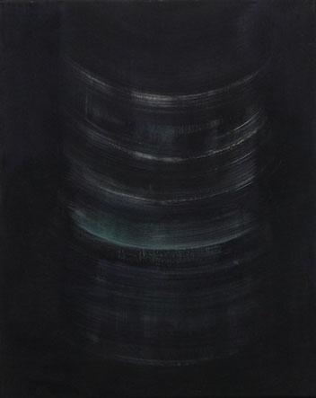 Bohrung, Öl/Leinwand, 50 x 40 cm, 2019