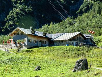 Gemstel Hütte im Kleinwalsertal