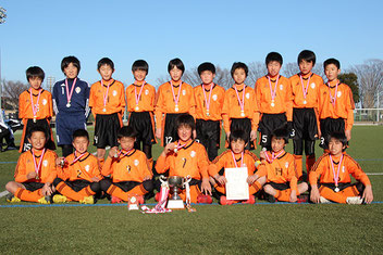 優勝の太田南FC