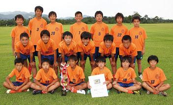 準優勝の大泉FC U-12