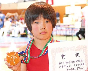 優勝した小林 先輩の金子和、木村安里、増山汐音に続け!