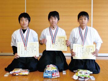 中学生男子・入賞者