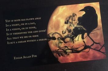Zitatkarte E. A. Poe