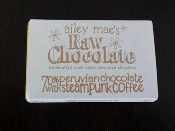 Schokolade mit Steampunk Kaffee von Raw Chocolate 4,73 €