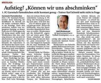Garmischer Tagblatt vom 24.09.2014