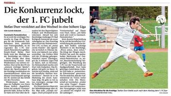 Garmischer Tagblatt vom 23.06.2014