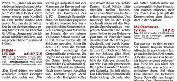 Garmischer Tagblatt vom 07.08.2014