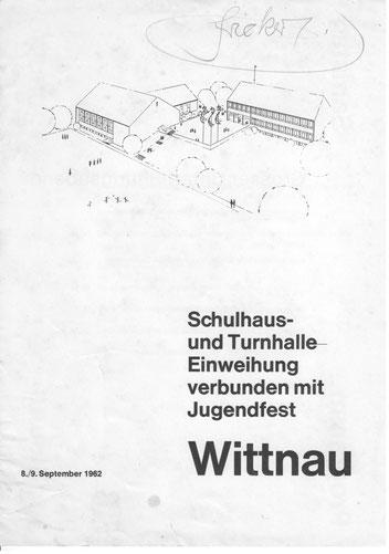 Flyer zum Jugendfest 1962