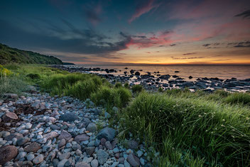 Landschaftsfotografie Deutschland, Insel Rügen, Ostsee, Kornfelder
