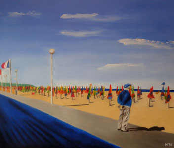 540 - Deauville plage, 2016