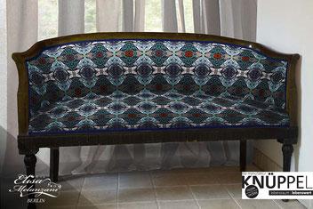 upholstery fabric © ELISA MELANZANI BERLIN