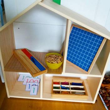 Spaß mit Mathe - Montessori-Materialien sind so herrlich einladend