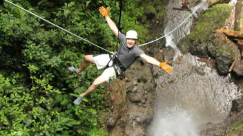 Arenal Combo Tour: Canyoneering & Rafting