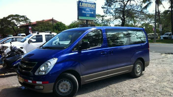 Shuttle service, private transportation anywhere in Costa Rica.