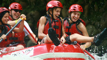 Rafting from Arenal