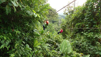 Tour de Canopy en Arenal