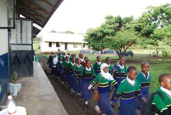 Baustand der Sanya Hoye Primary School,  Januar 2018