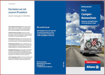 Wohnmobil mieten DoCa-Mobil und Reiseschutz