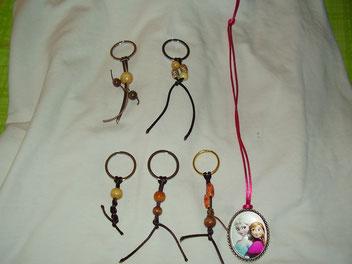 Llaveros y Medalla de Frozen