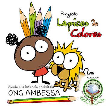 """Acción Papalagi Etiopía """"Lapices de Colores"""" - Grupo Scout Chaminade de Cádiz"""