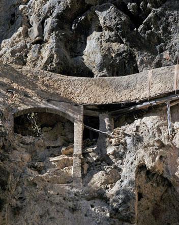 canalisation de l'ancienne centrale hydro-électrique