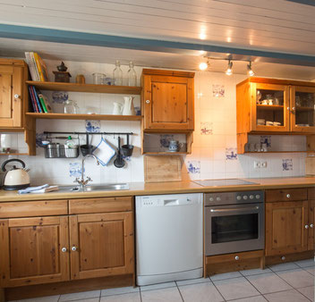 """Küche in der """"Alten Werkstatt"""""""