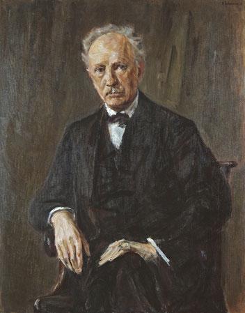 R.シュトラウスの肖像画 (マックス・リーバーマン画)wikipedia