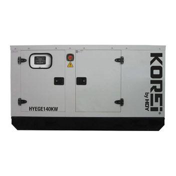 Hyundai | Generadores | Generador HYEGE140KW