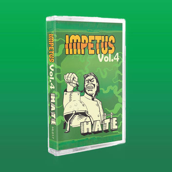"Heisse Luft Impetus Vol. 4 ""Hate"" Cassette / Tape"