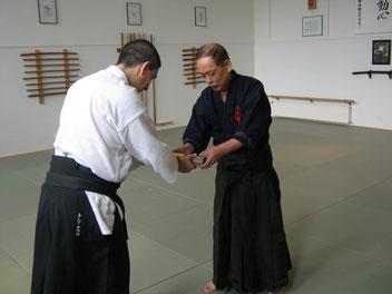 Consegna dell'Okuden No Maki al M° Mauro Toso, Itaria no Hombu Cho