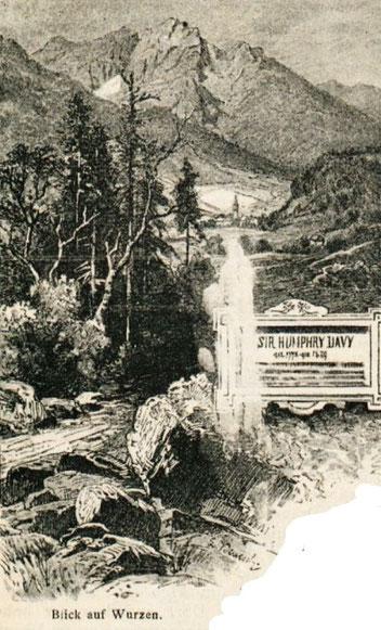 Zelenci, Julische Alpen, Save Ursprung, Sir Humphrey Davy