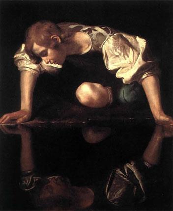 """Narciso, """"Caravaggio"""", 1557-1559"""