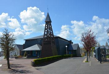 église Notre-Dame de Lourdes, Donville-les-Bains