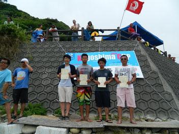 ロングメンクラス 優勝 中村八起(写真左) 全日本選手権の切符をGETしました!