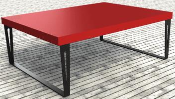 pied de table design pour table de salon