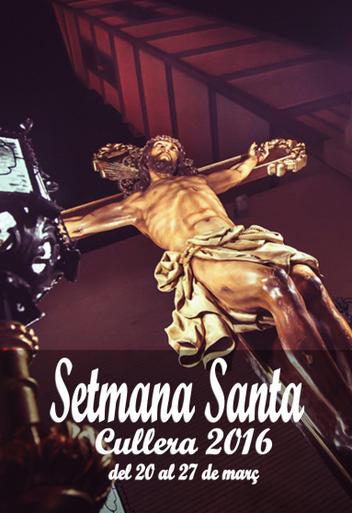 Cartel de la Semana Santa de Cullera 2016