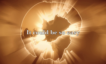 """Heute ist unser neues Video zum Song """"It could be so easy"""" erschienen. Die Welt brennt, doch es könnte so einfach sein..."""