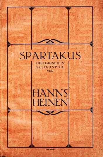 Hanns Heinen - Spartakus, Leipzig 1919