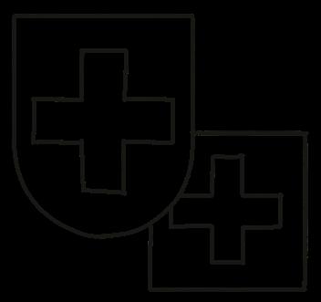 Auf Antrag kann auch das Wappen von Unternehmen verwendet werden.