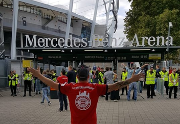 01. September 2018 | Mercedes Benz Arena in Stuttgart