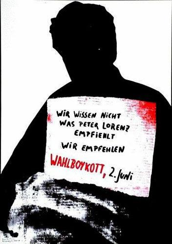 Den af 2.juni-bevægelse bortførte CDU-toppolitiker Peter Lorenz