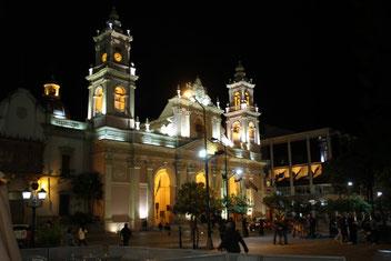 Plazza de Mayo à Salta