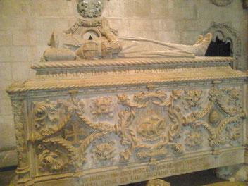Am Grab von Vasco da Gama