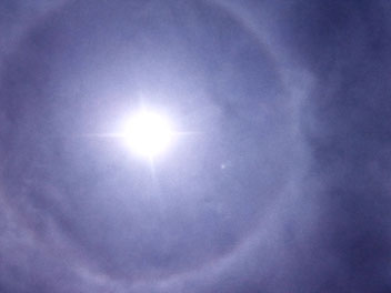 Corfelios (Korfu+Ilios=Korfusonne) mit schöner Corona