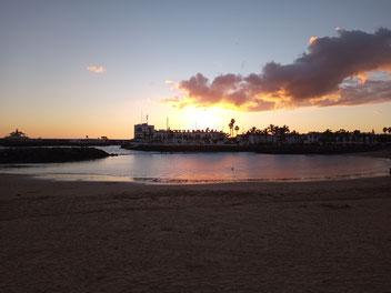 Sonnenuntergang über Puerto de Mogan