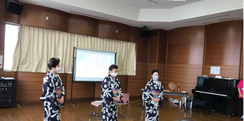 どれみLABO 音楽健康サロン 音楽療法 介護予防 健康促進 江東区 細川民族舞踊研究会