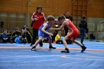 Inzinger Finale bis 42k, Flo (Blau) gegen Luis (Rot)