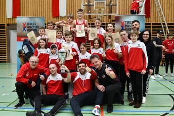 Siegreiches RSCI-Team bei der Schülermeisterschaft