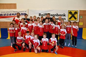 Das gesamte Team des RSC Inzing bei der Tiroler Meisterschaft